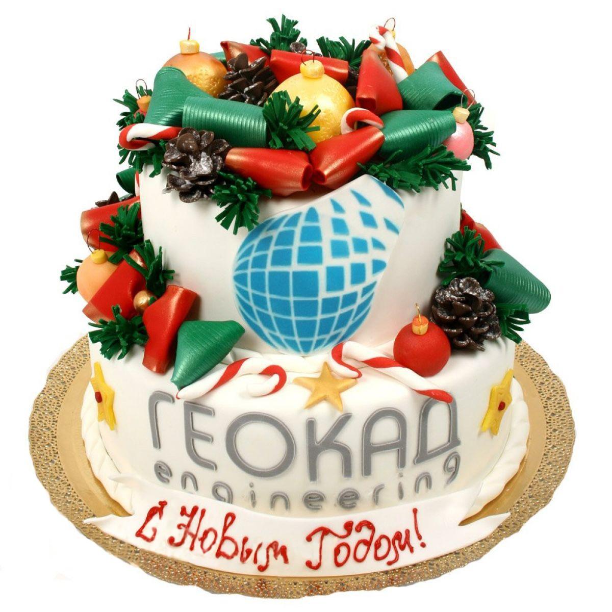 №1008 Торт новый год