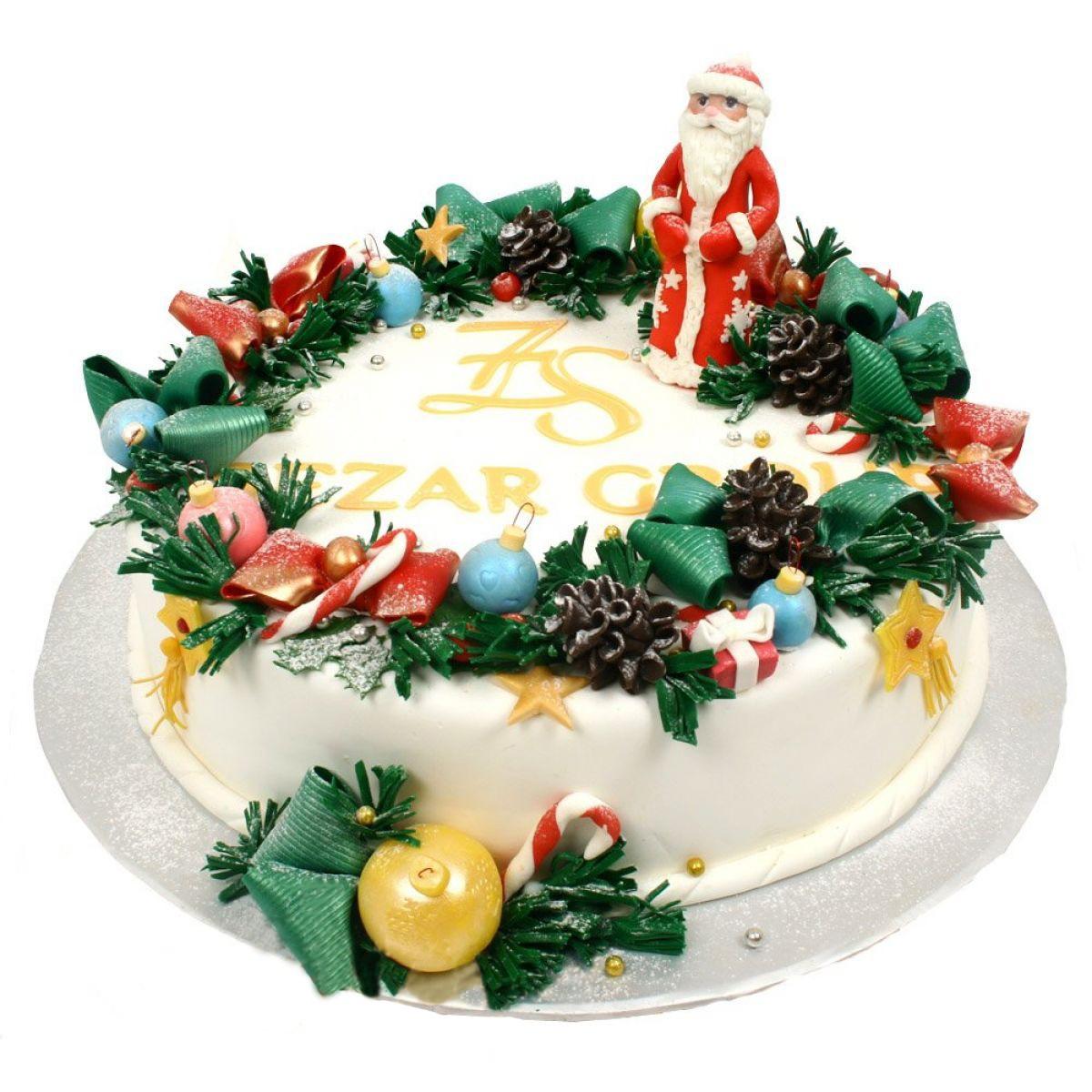 №1009 Торт новый год