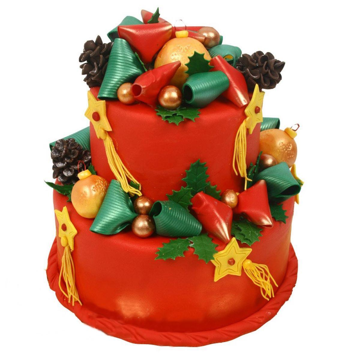 №1010 Торт новый год