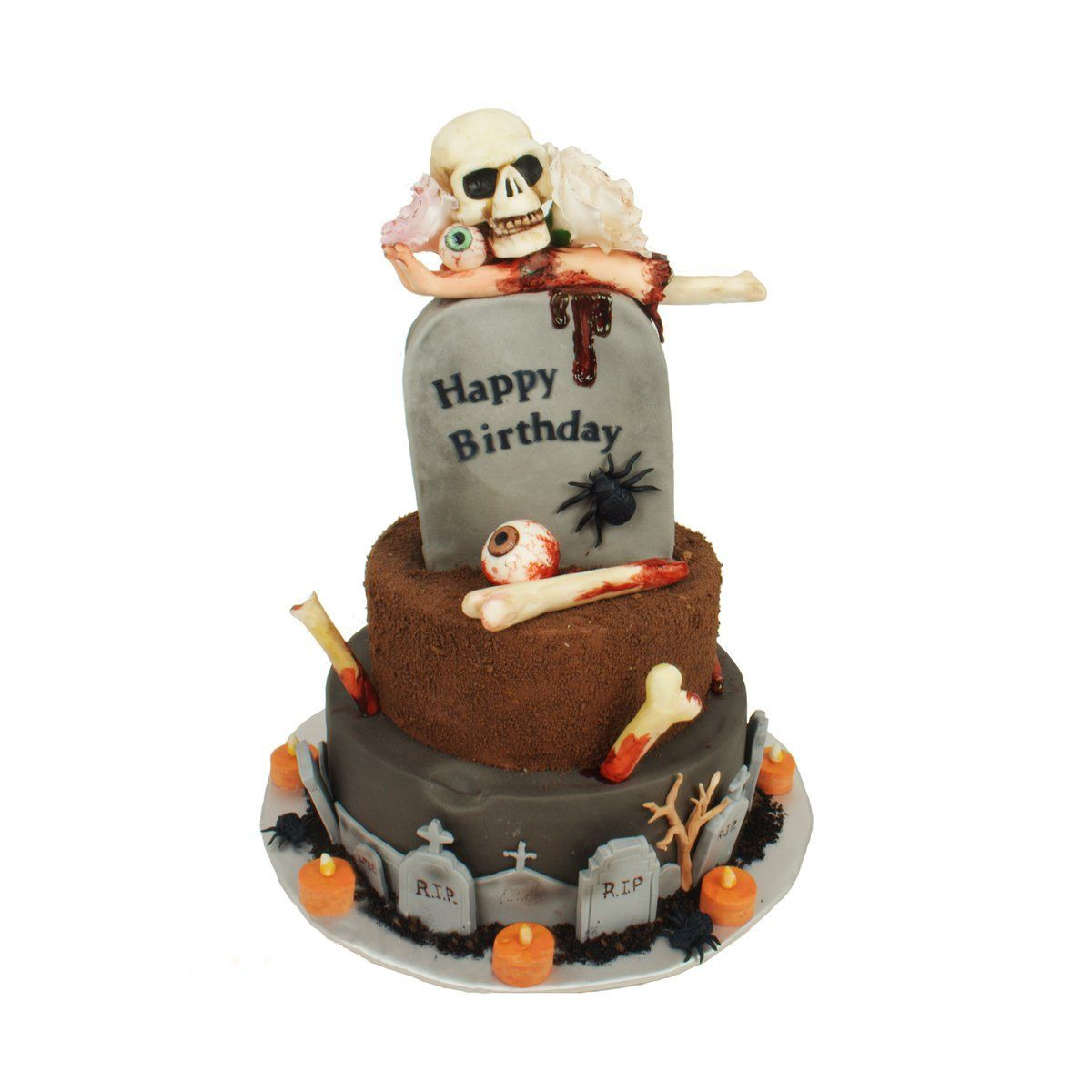 №1024 Торт скелет
