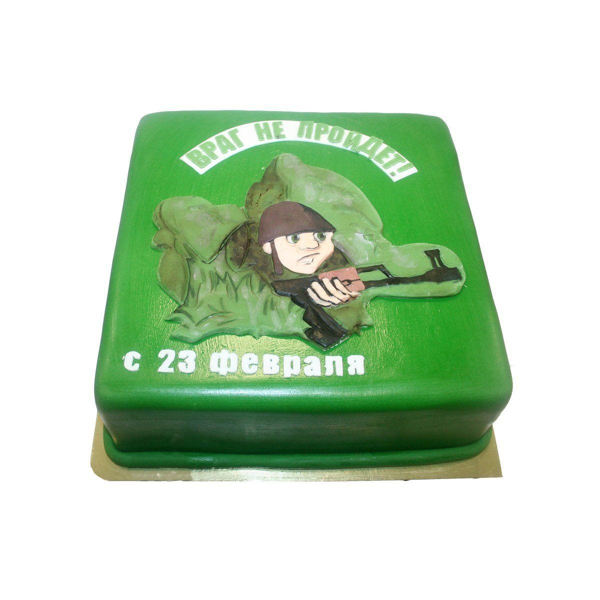 №1032 Торт солдат