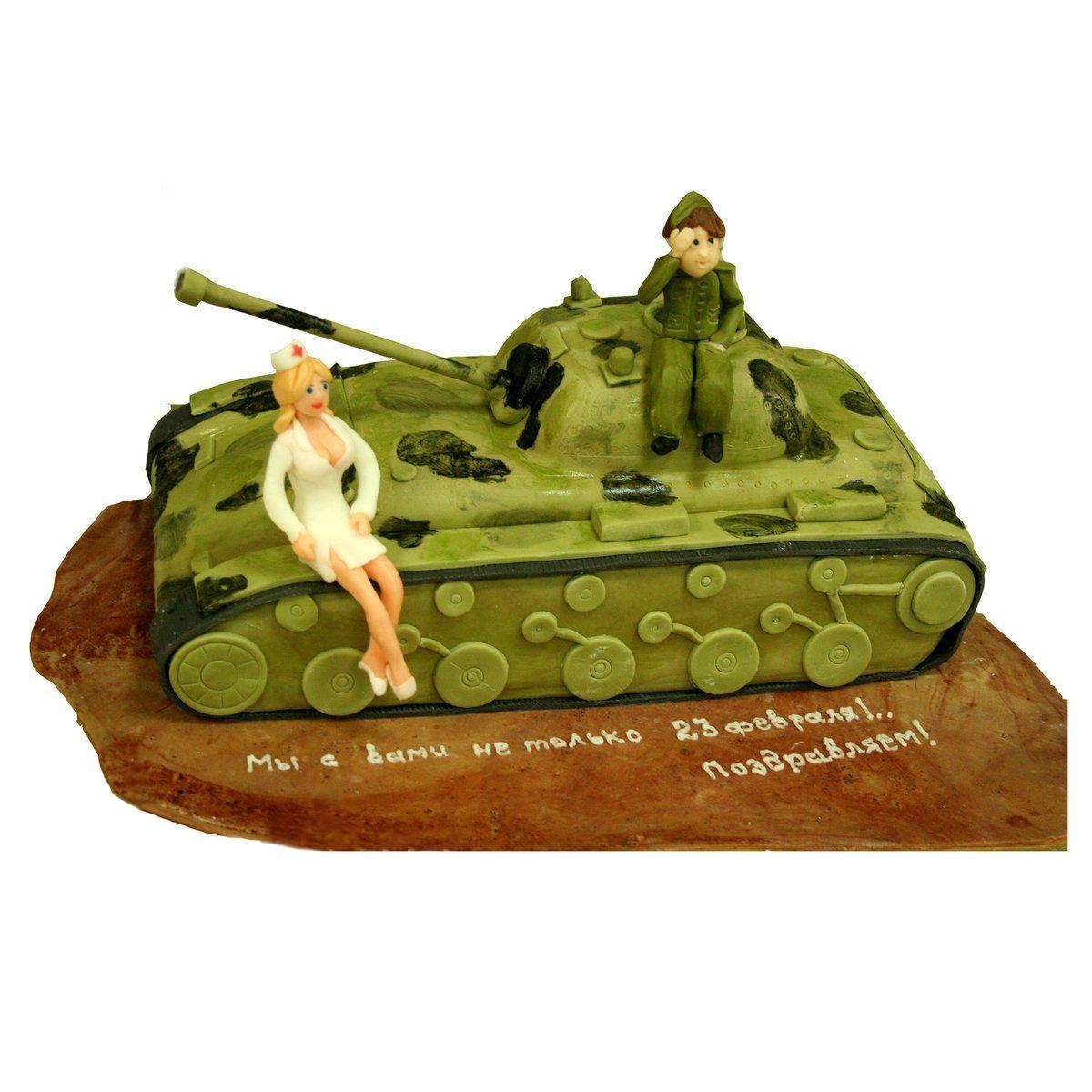№1041 Торт танкист