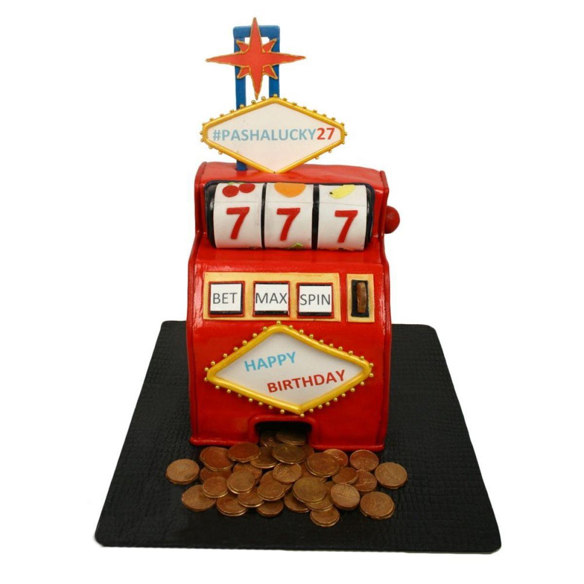 №1068 Торт игровой автомат