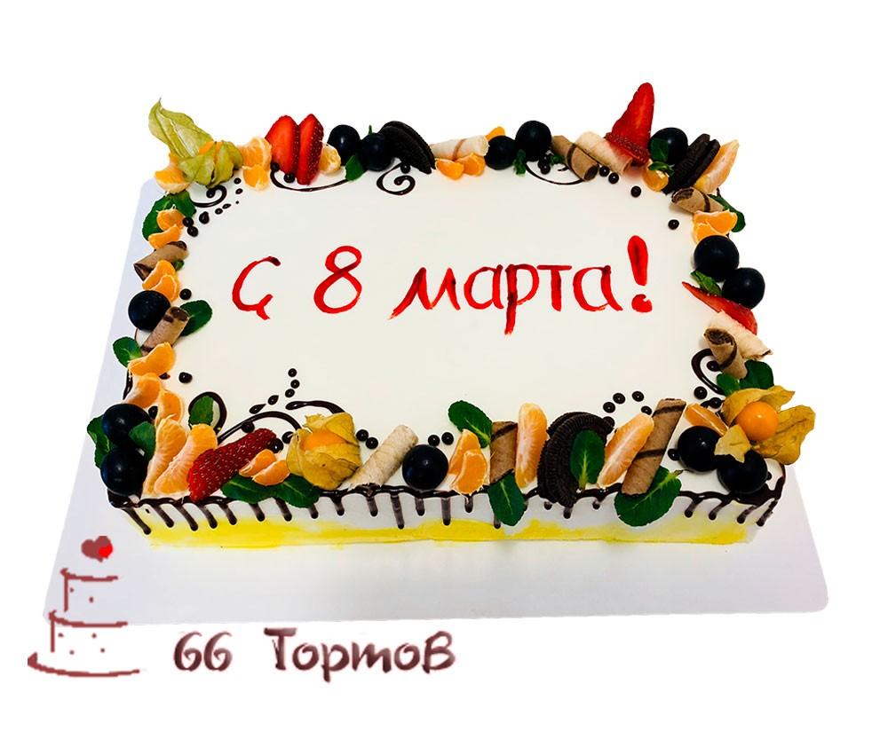 №107 Торт 8 марта
