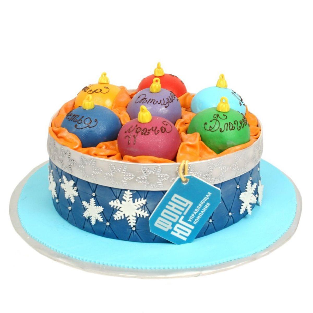 №1092 Торт шары