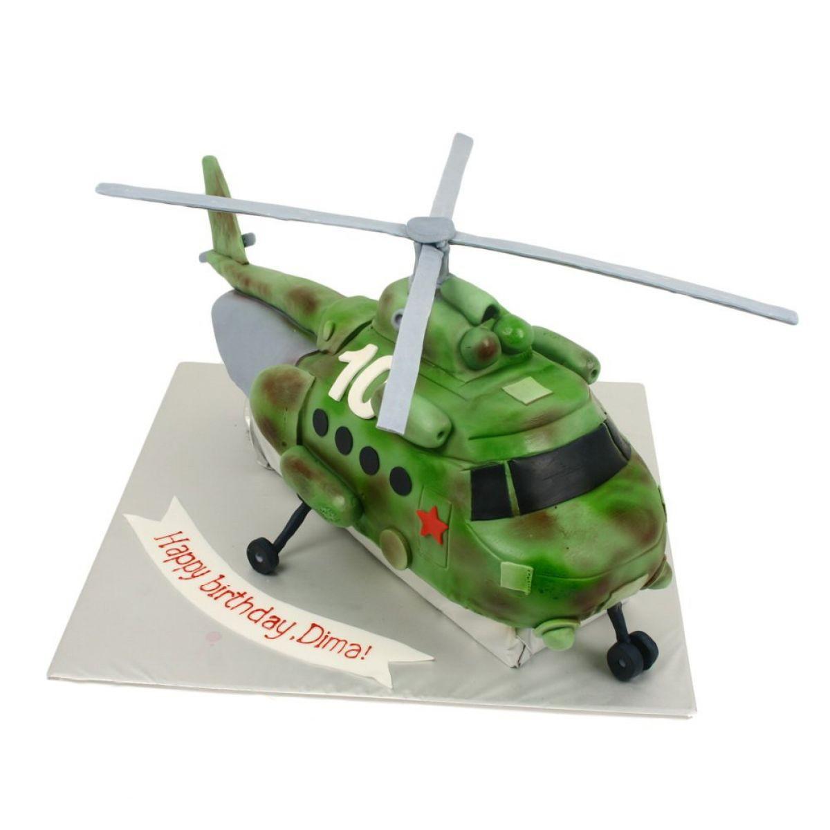 №1112 Торт вертолет