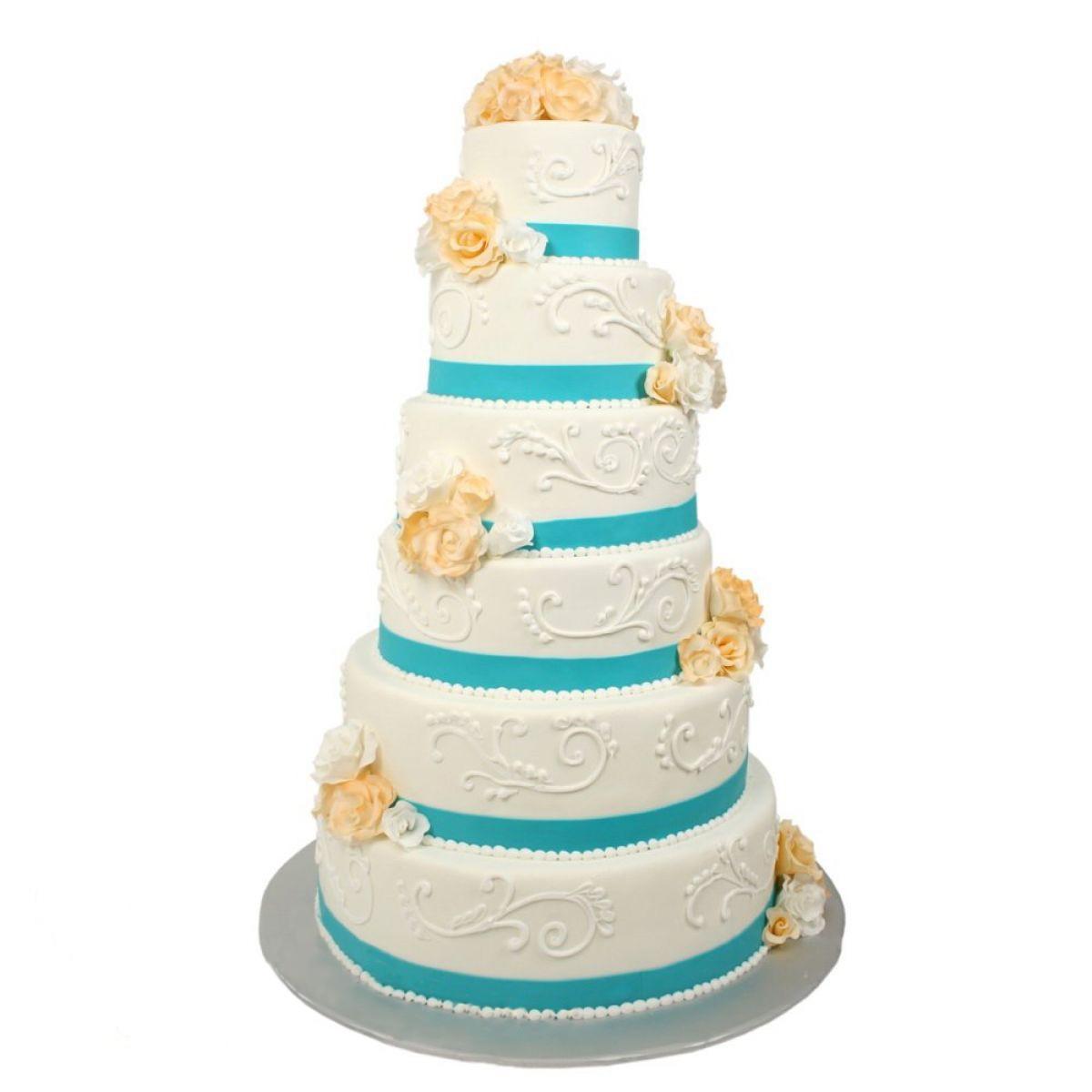 №1129 Торт цветы