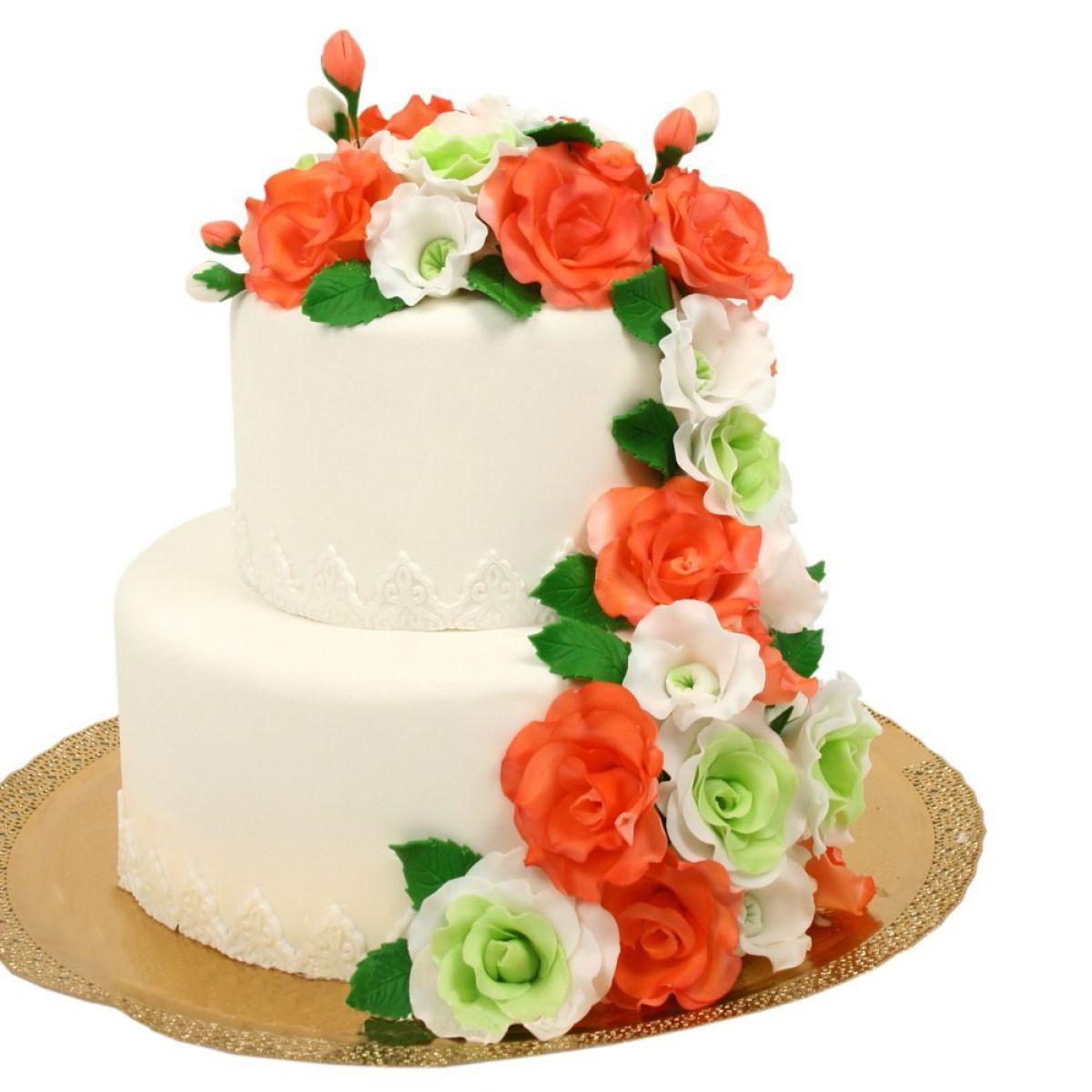 №1130 Торт розы