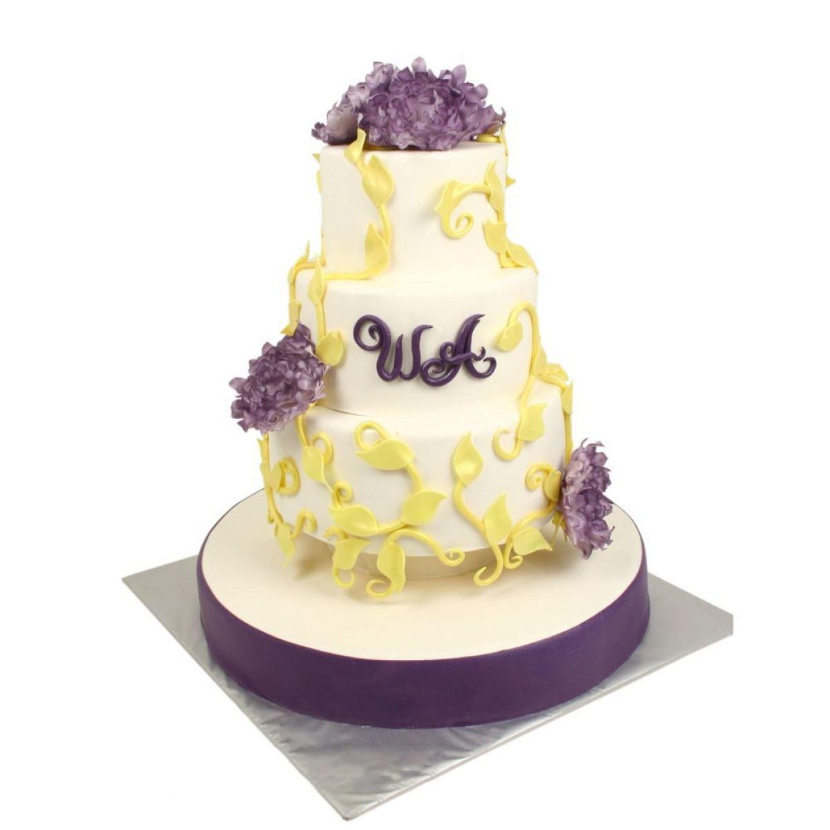 №1156 Торт цветы