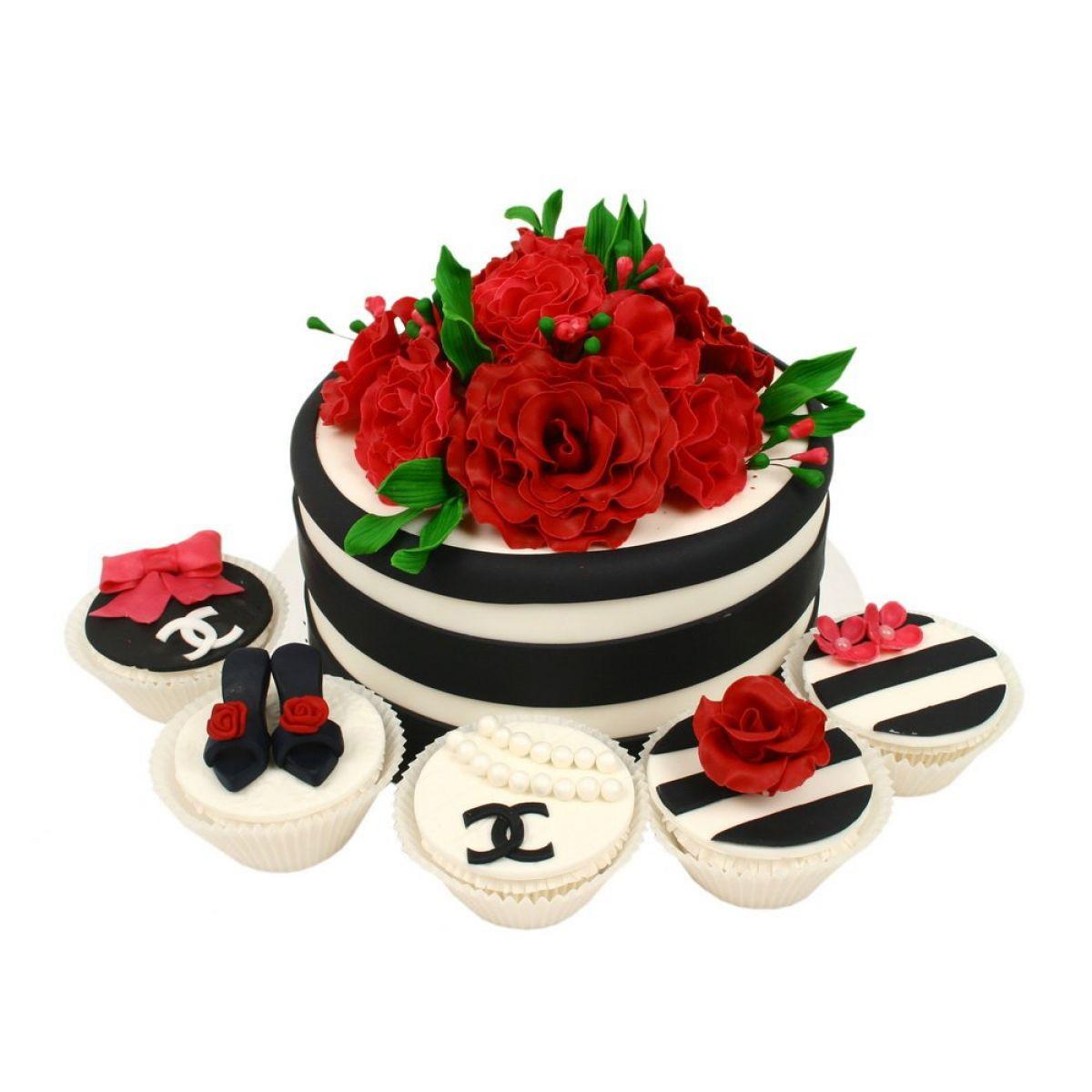 №1175 Торт цветы
