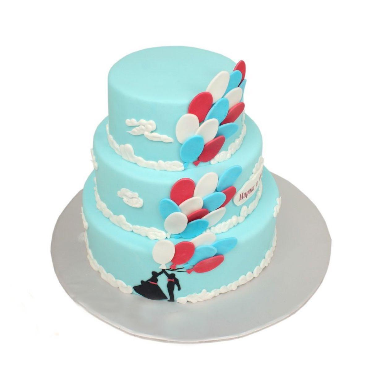 №1176 Торт воздушные шары