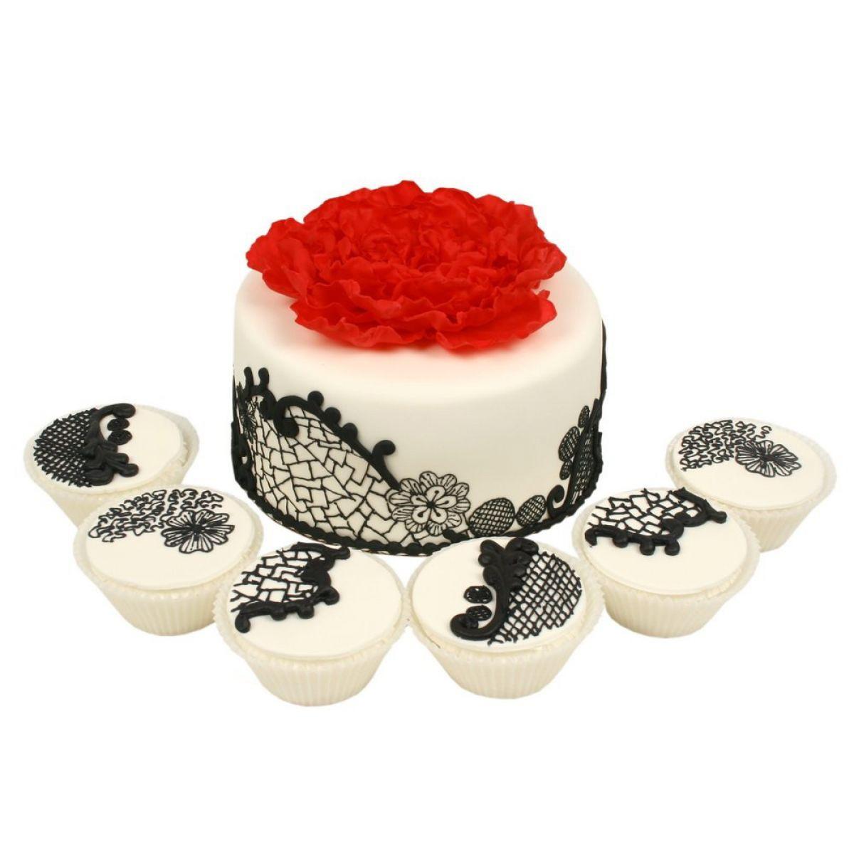 №1181 Торт кружево