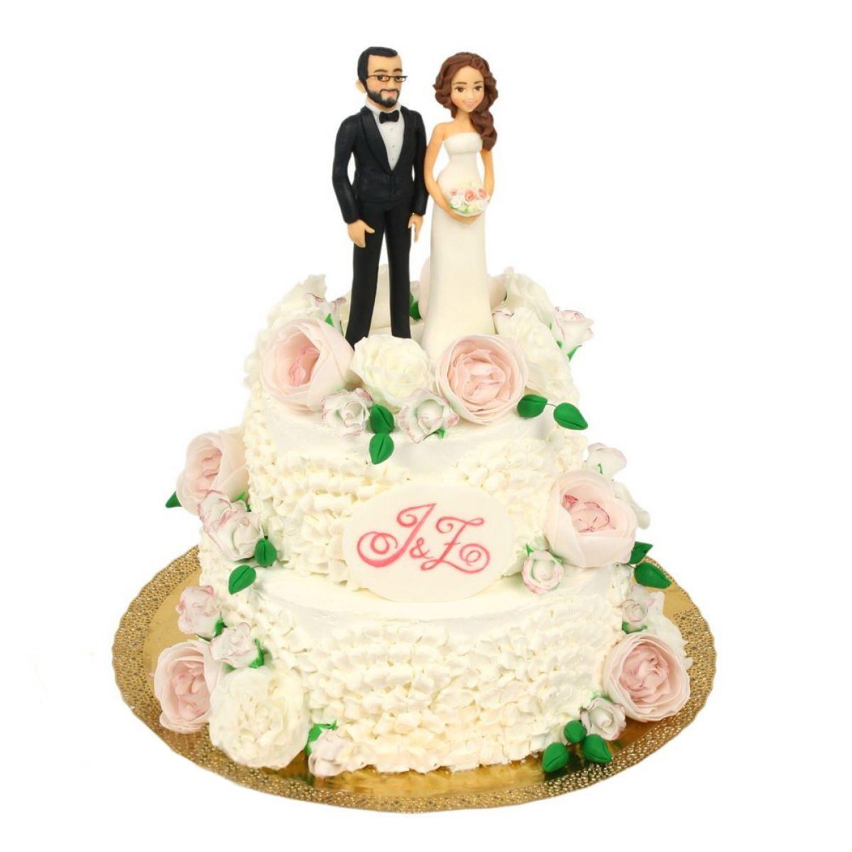 №1183 Торт влюбленные