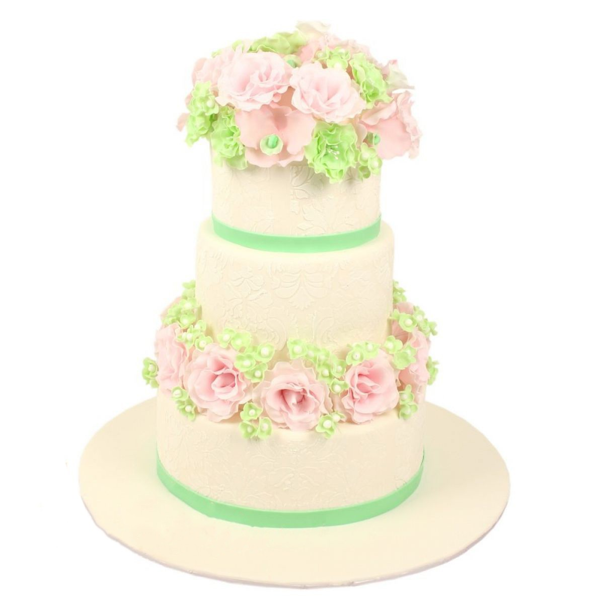 №1191 Торт цветы