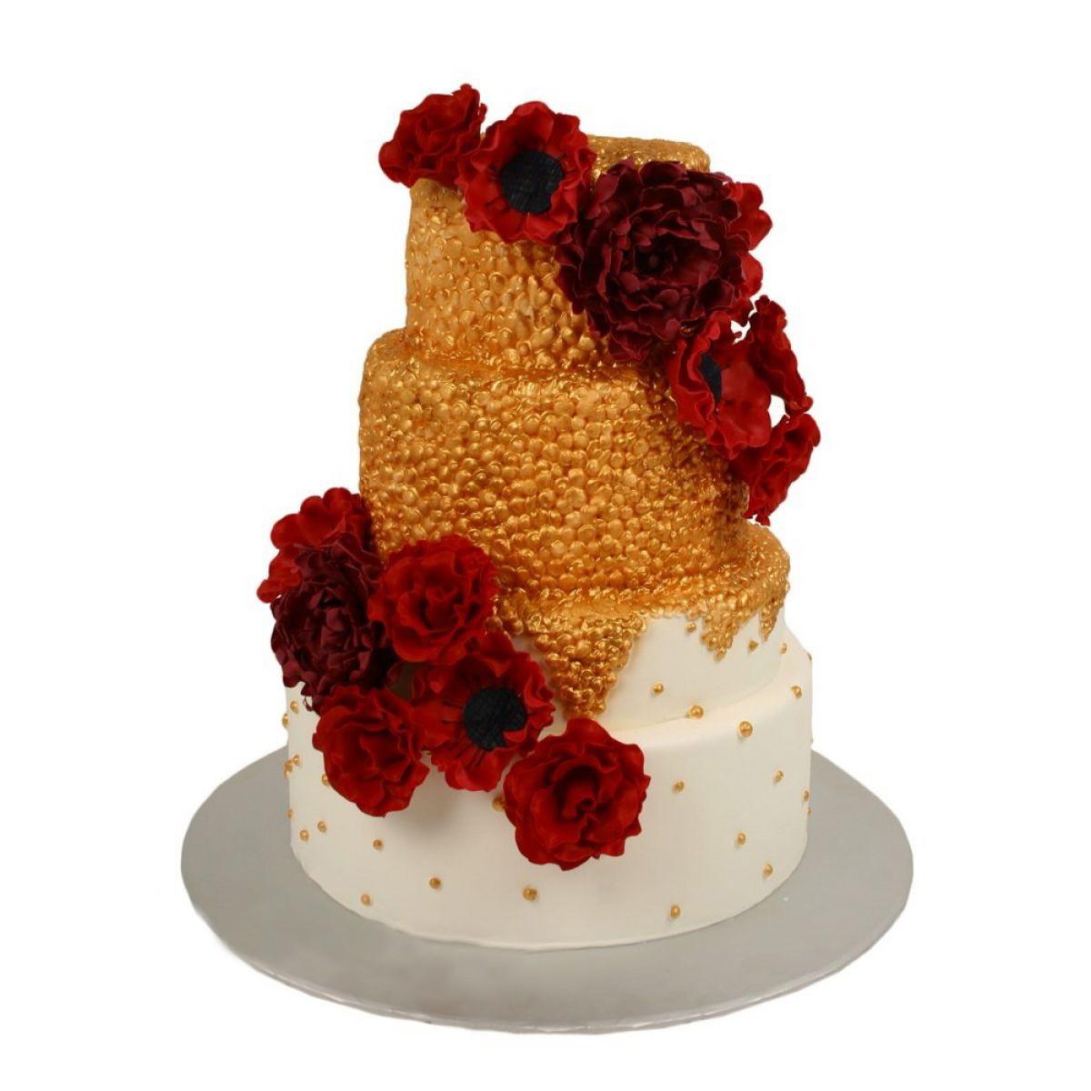 №1193 Торт розы