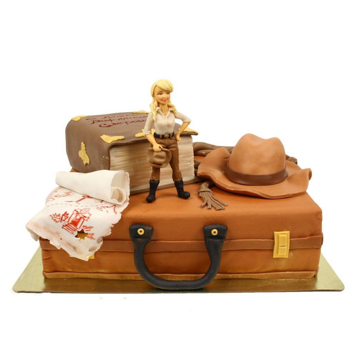 №1195 Торт чемодан