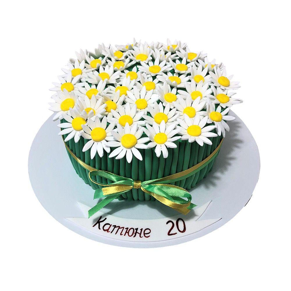 №12 Торт ромашка