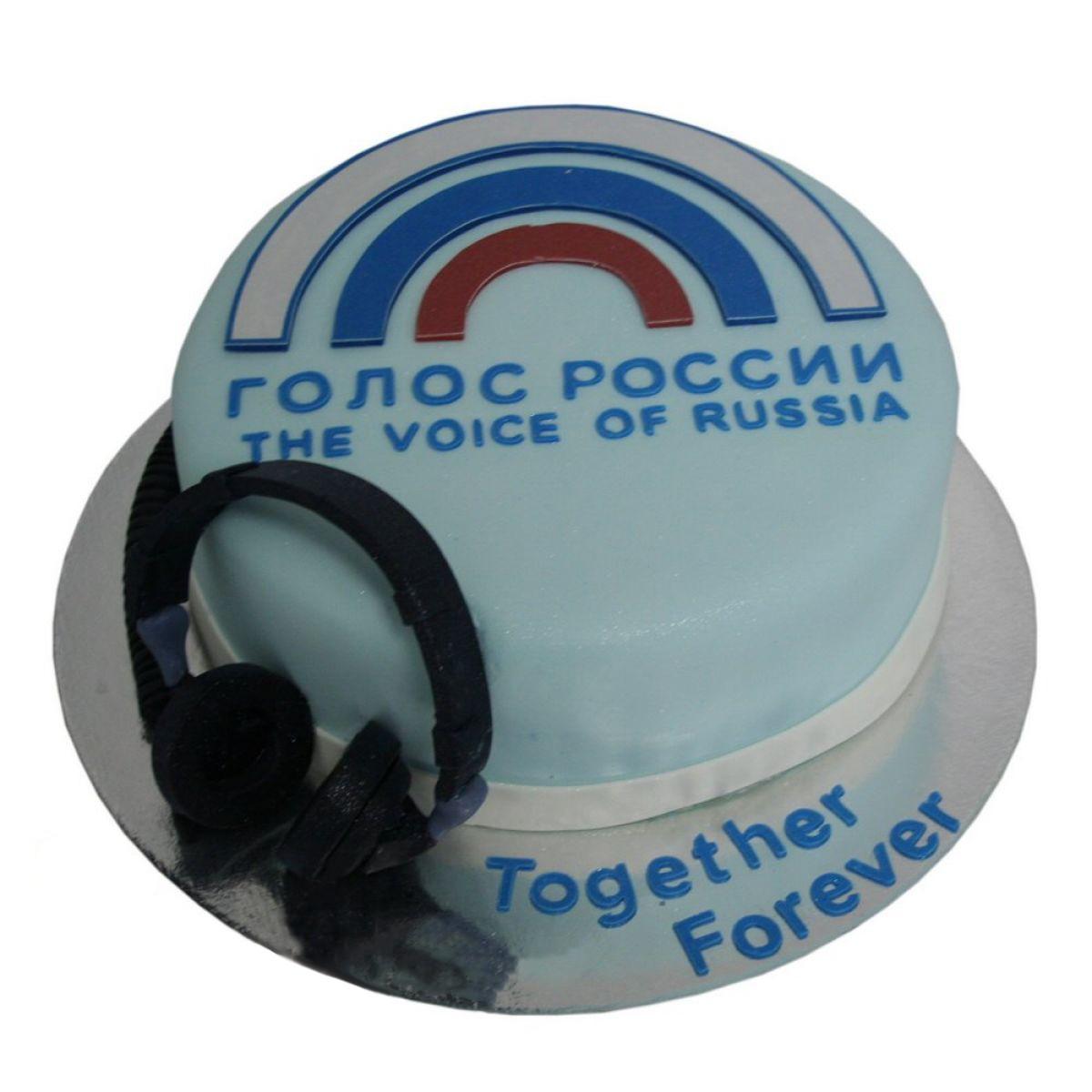 №1223 Торт голос россии