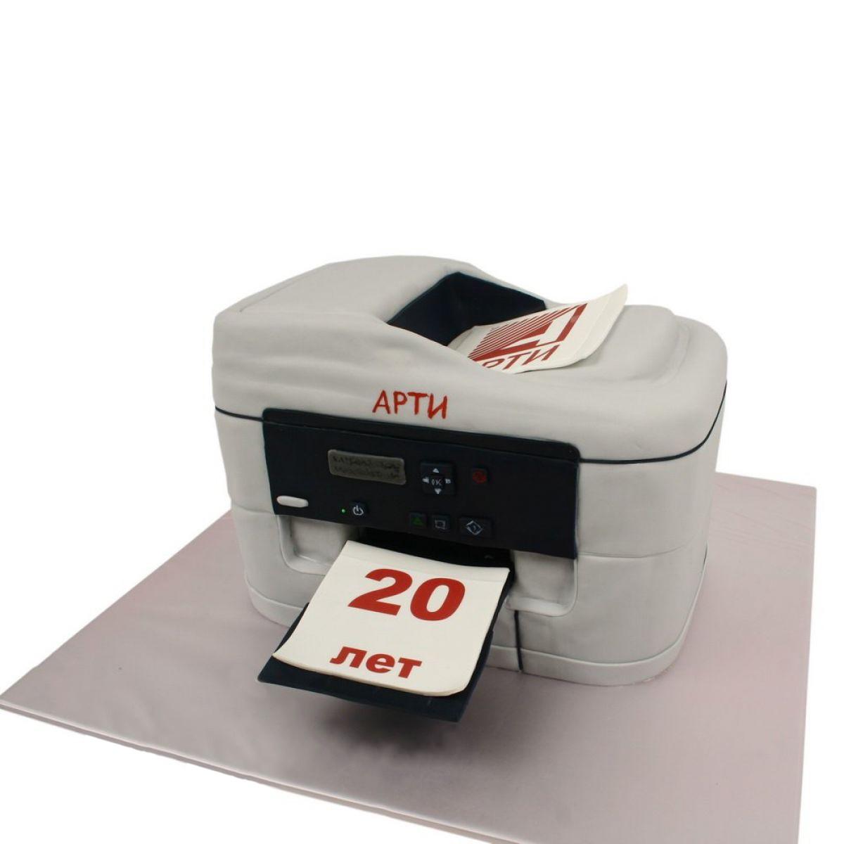 №1228 Торт принтер