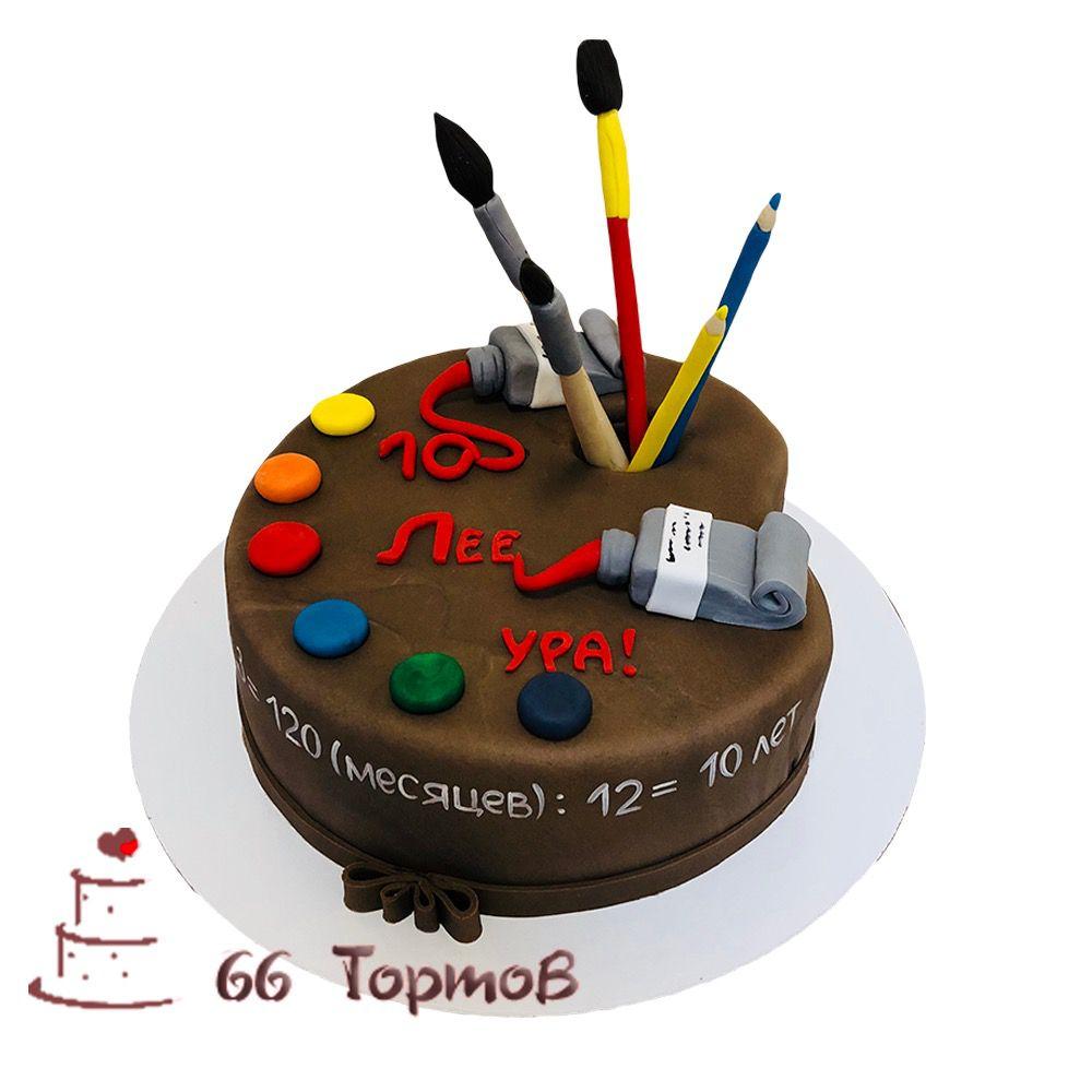 №123 Торт палитра