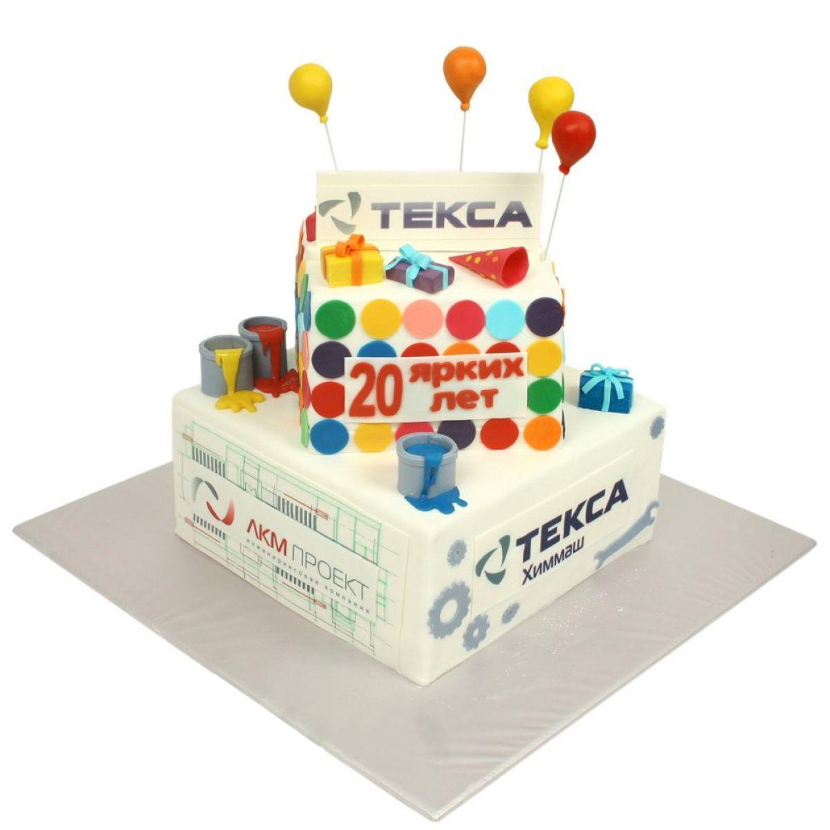 №1237 Торт краска