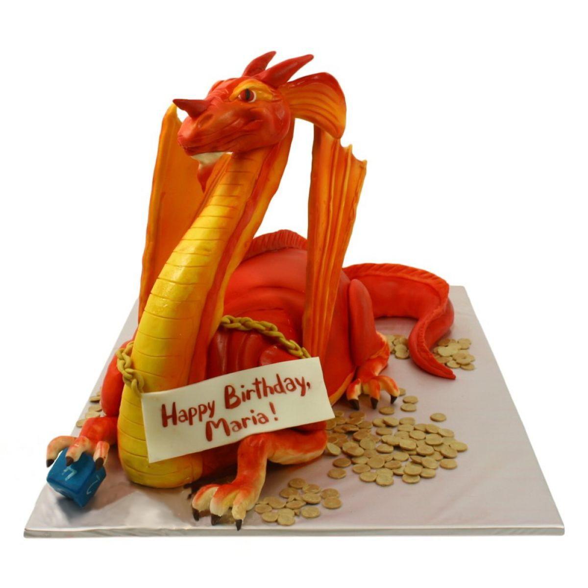 №1250 Торт дракон