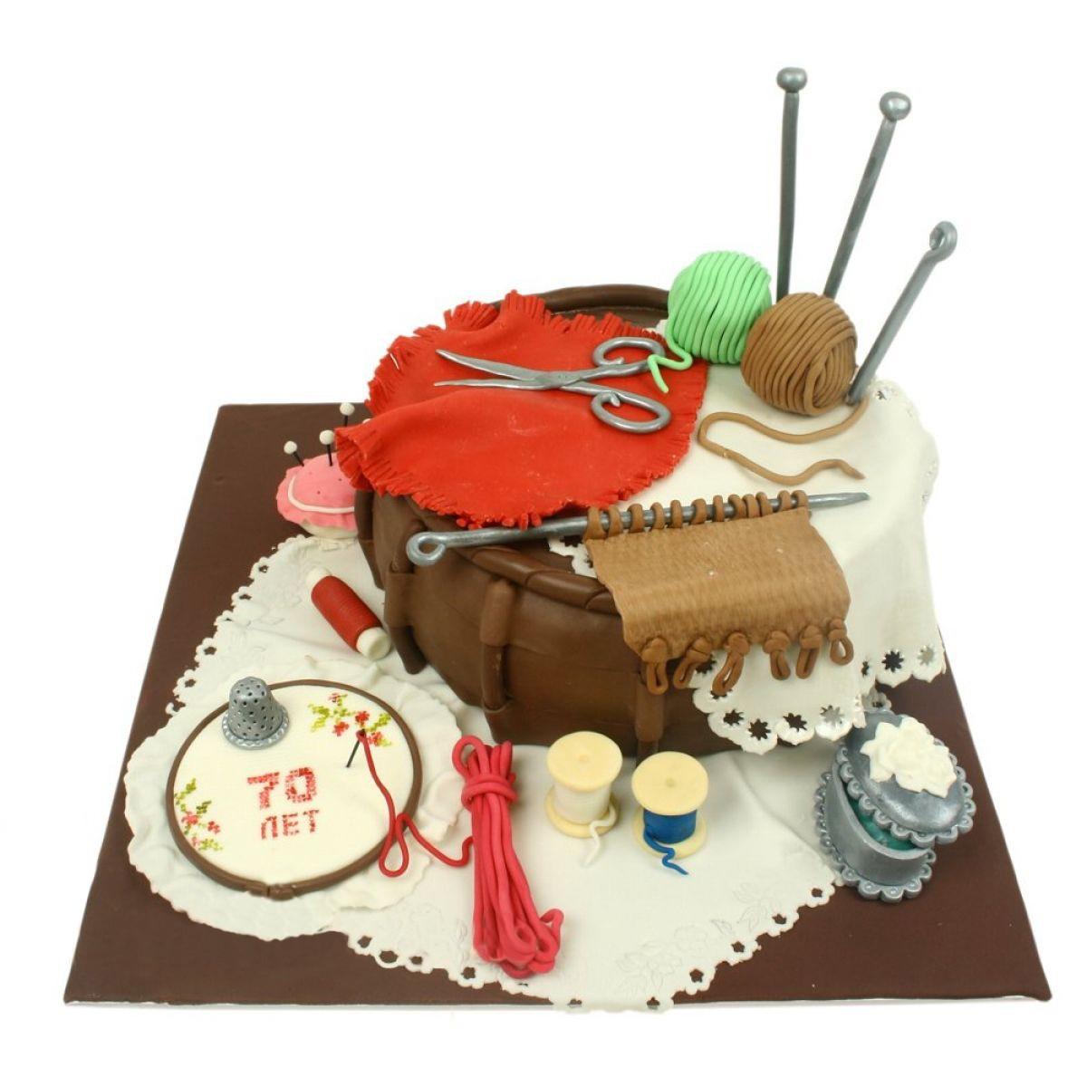 №1252 Торт спицы