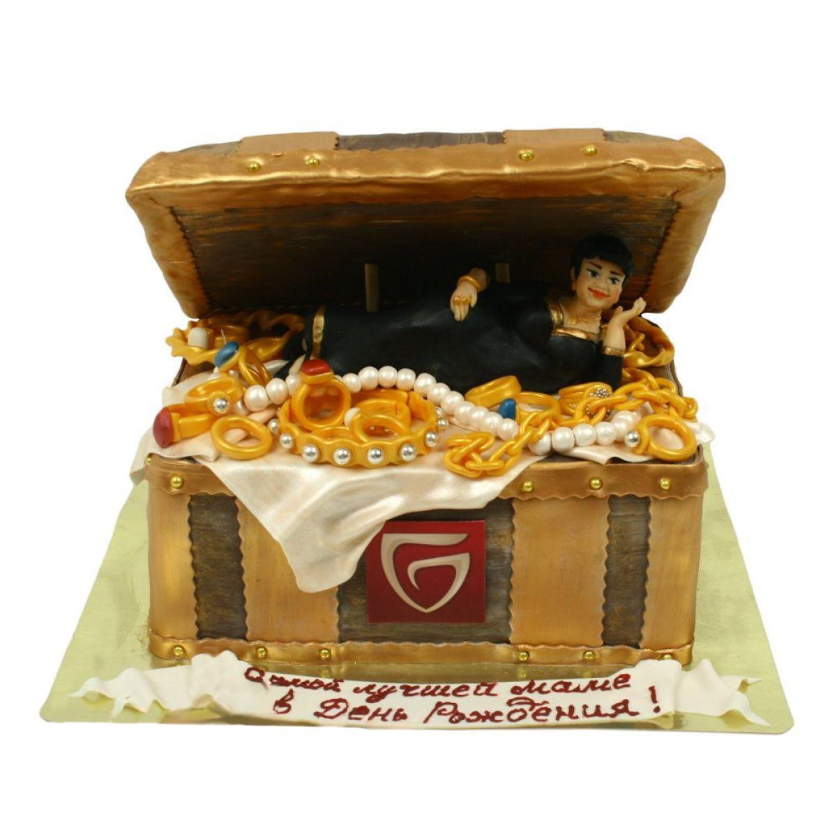 №1257 Торт сундук
