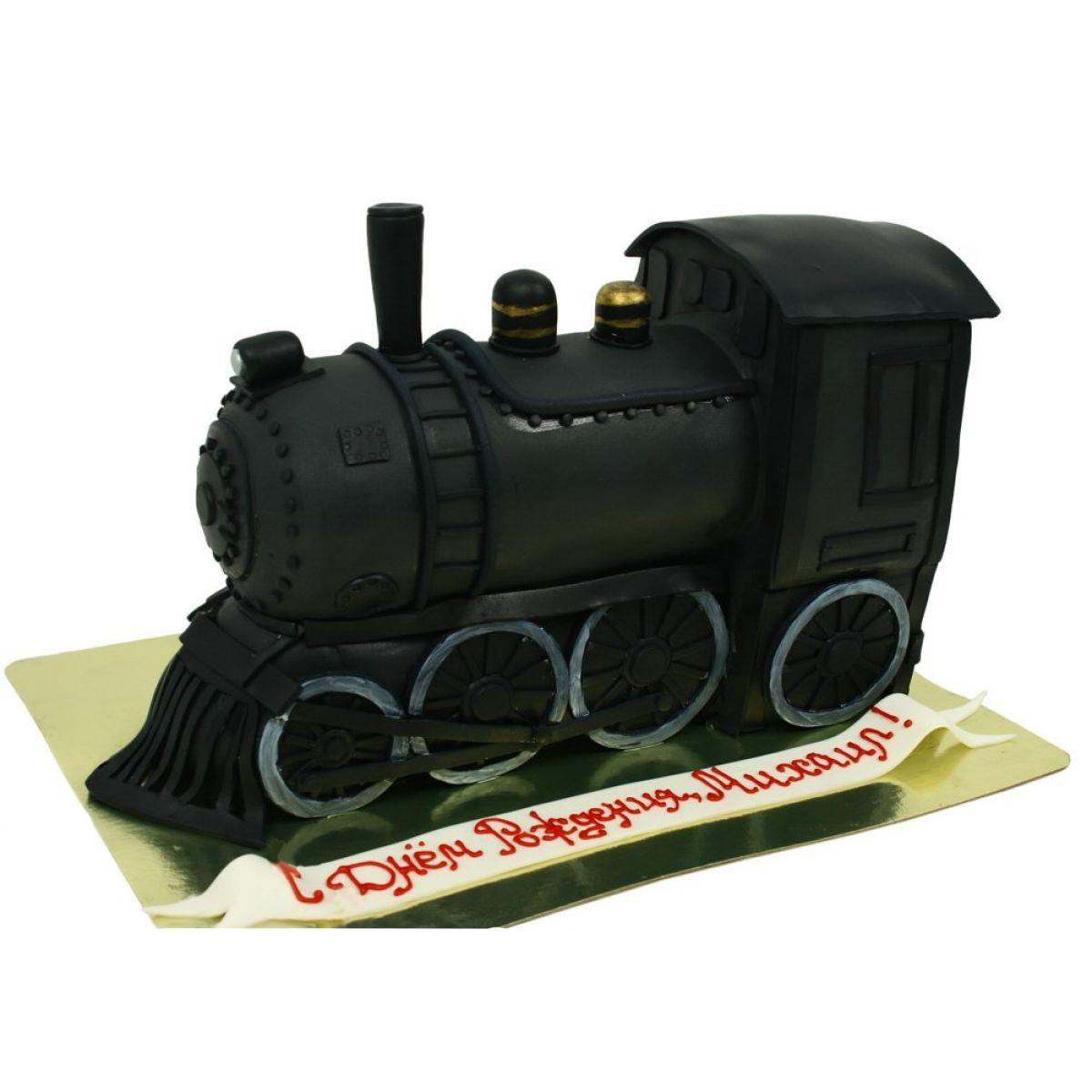 №1262 Торт поезд