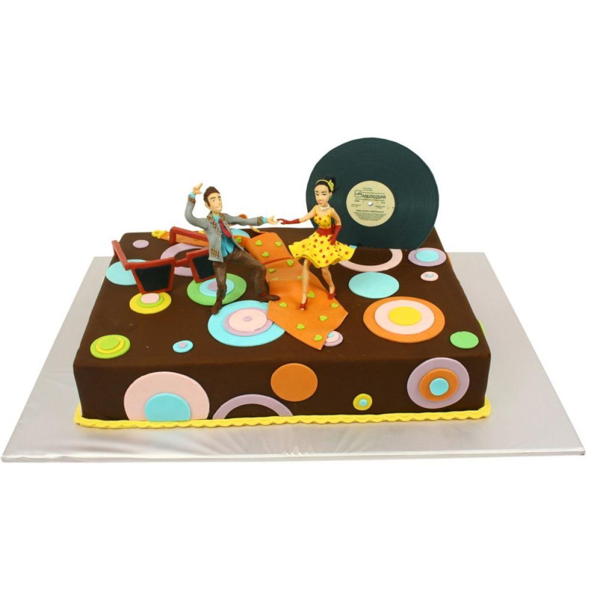 №1272 Торт танцы
