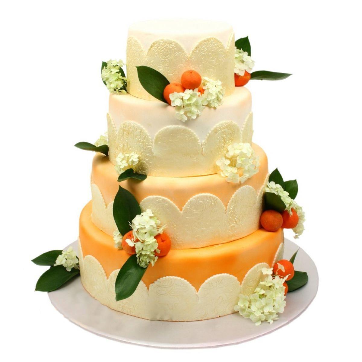 №1290 Торт цветы
