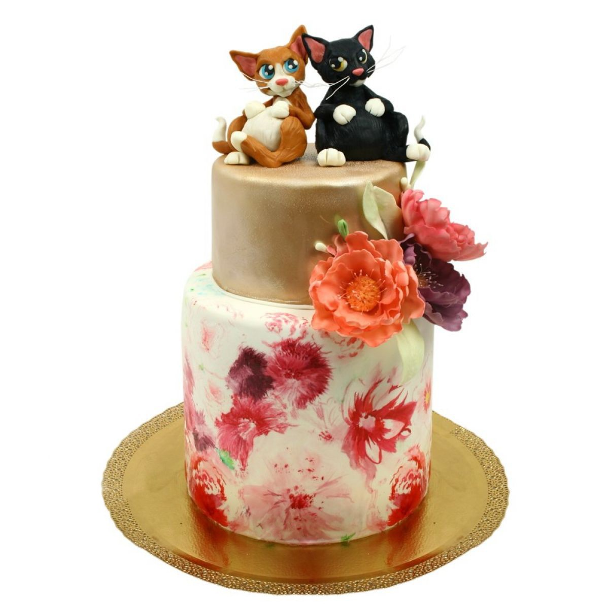 №1306 Торт котики