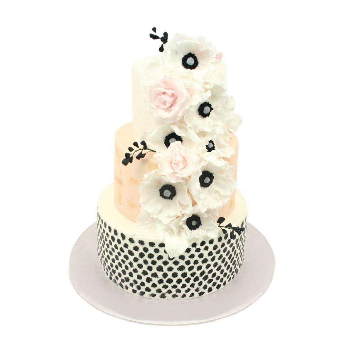 №1307 Торт цветы