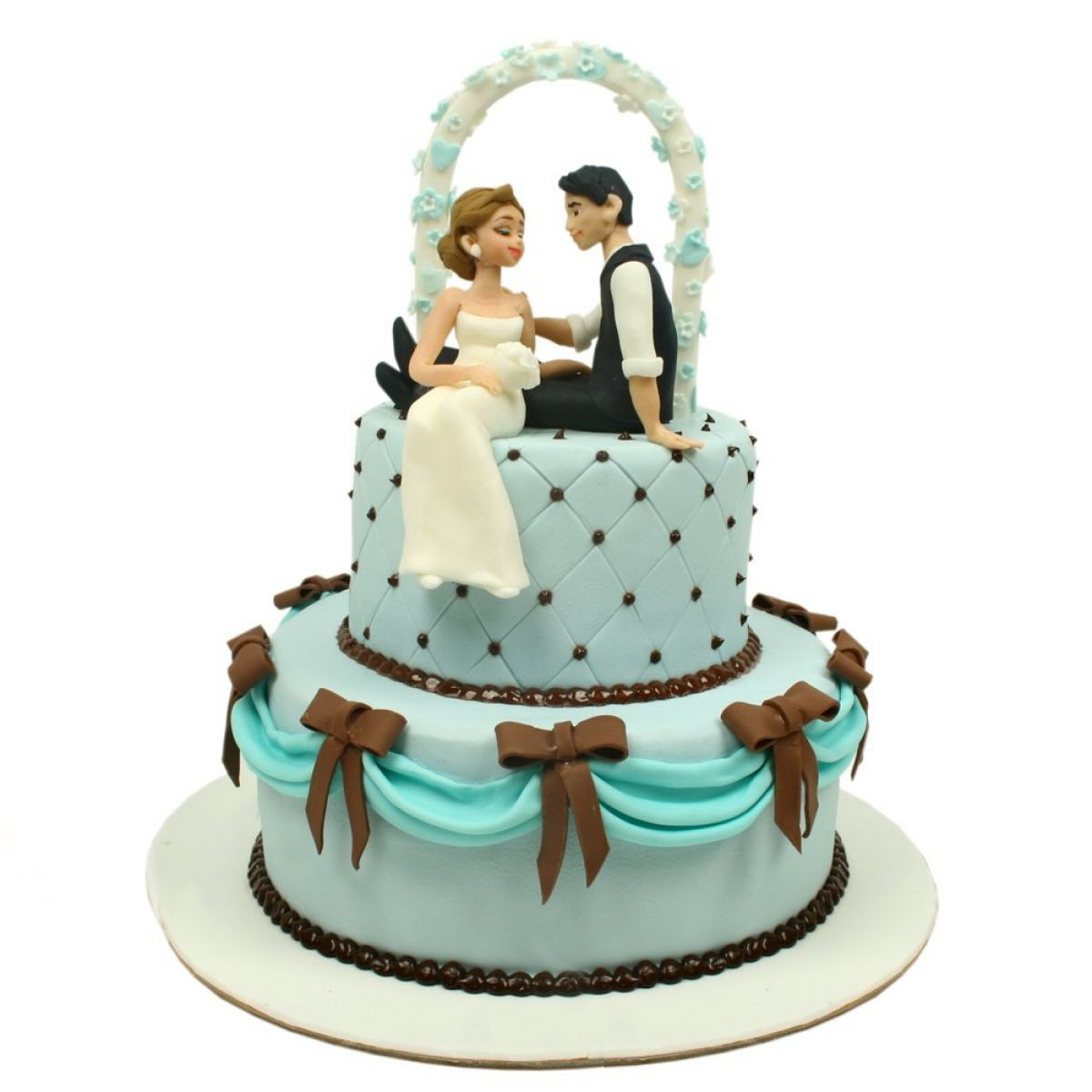 №1312 Торт влюбленные