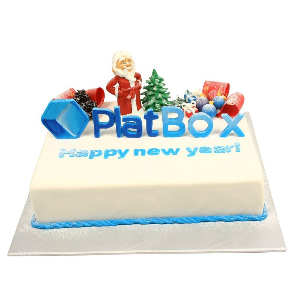 №1317 Торт новый год