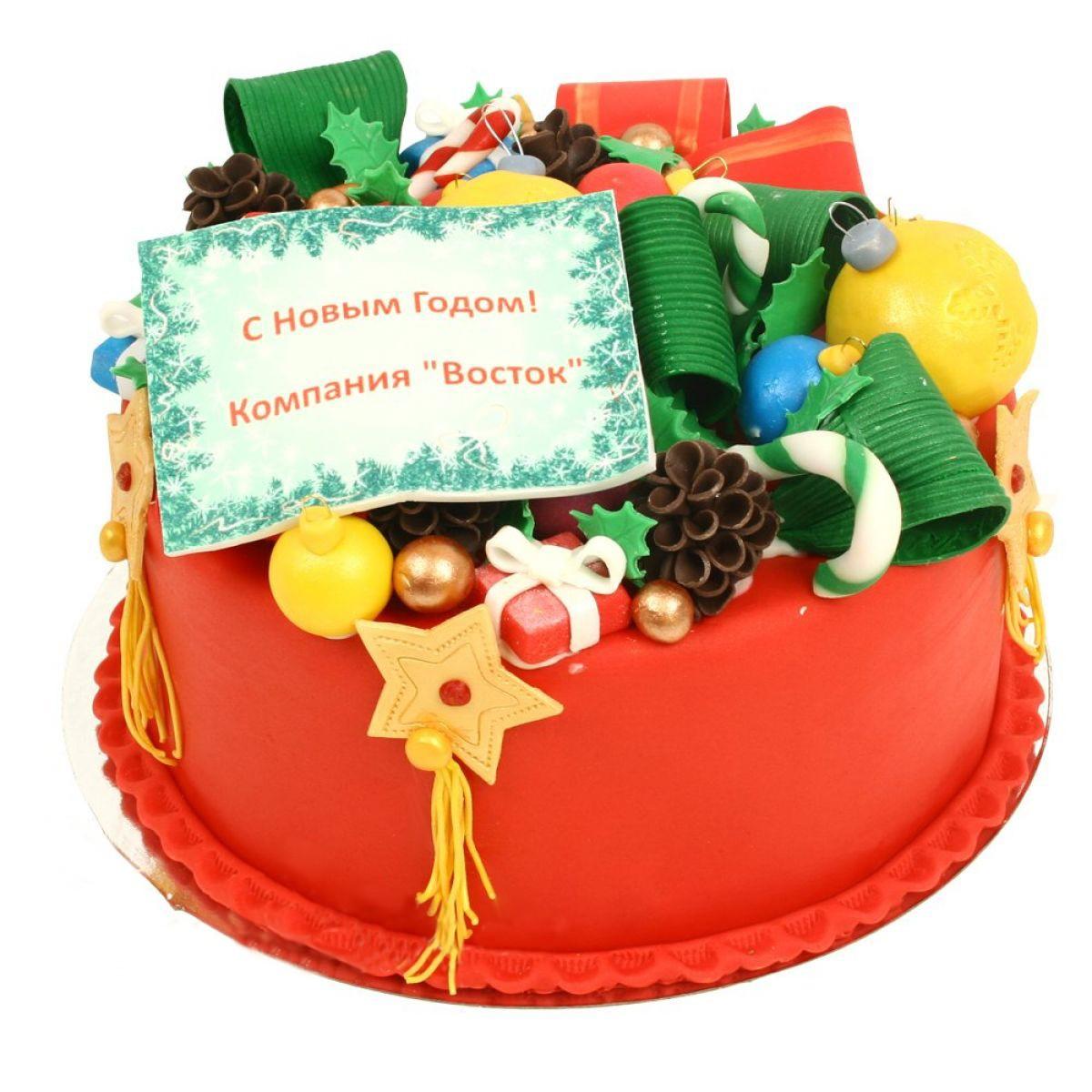 №1318 Торт новый год