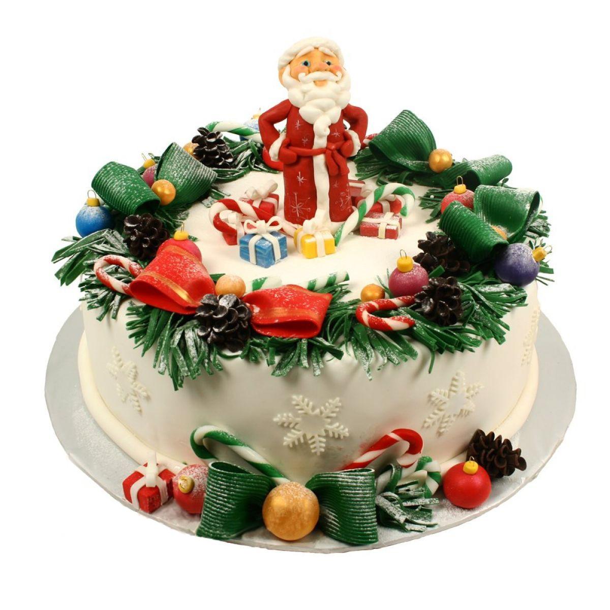 №1319 Торт новый год
