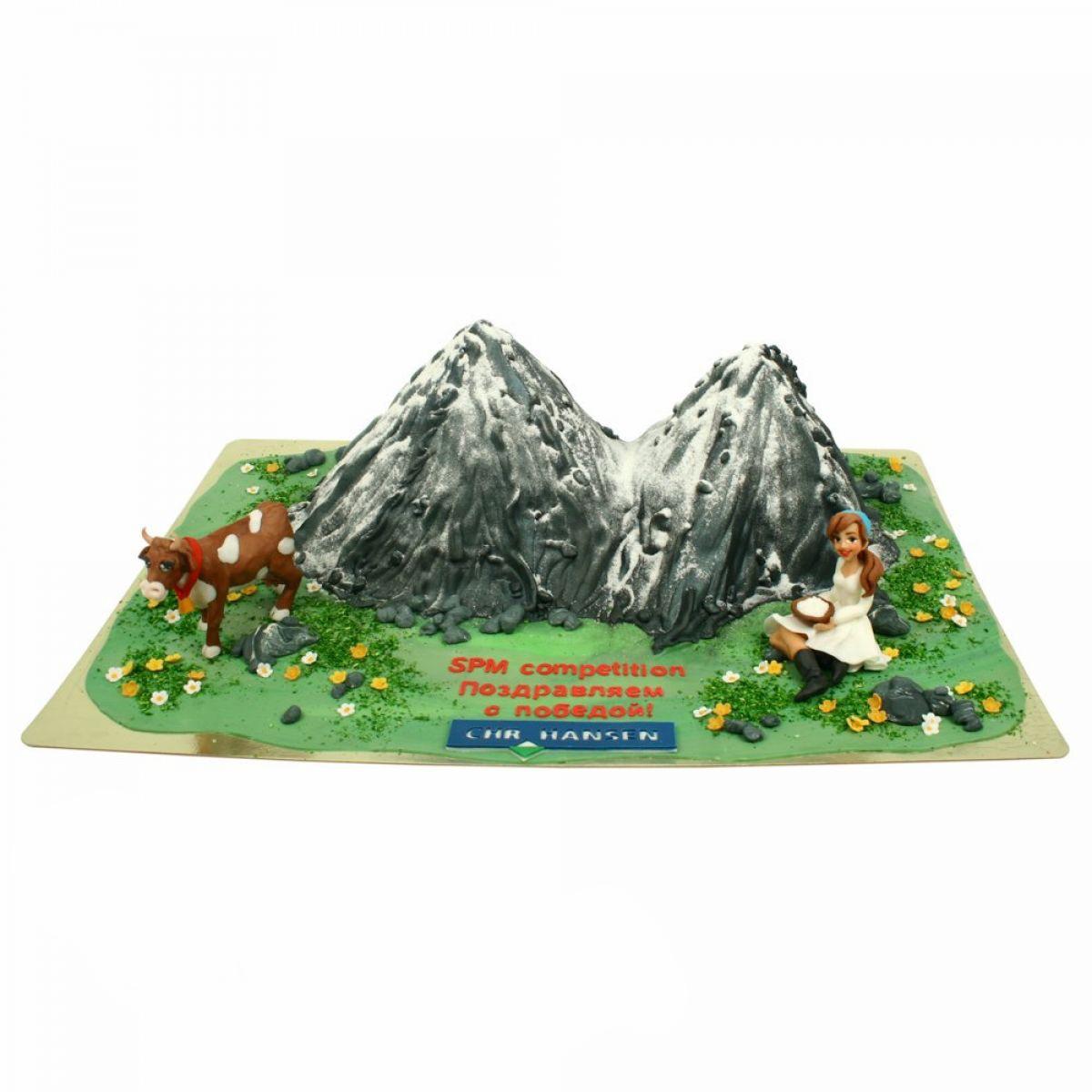 №1354 Торт горы