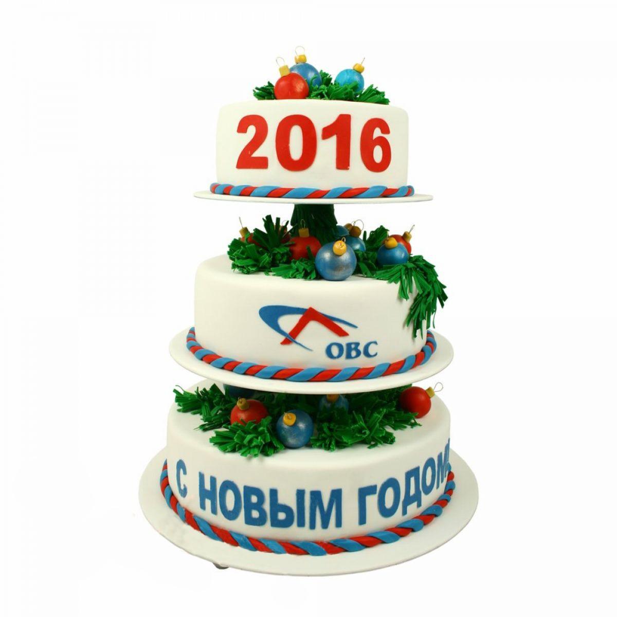 №1375 Торт новый год