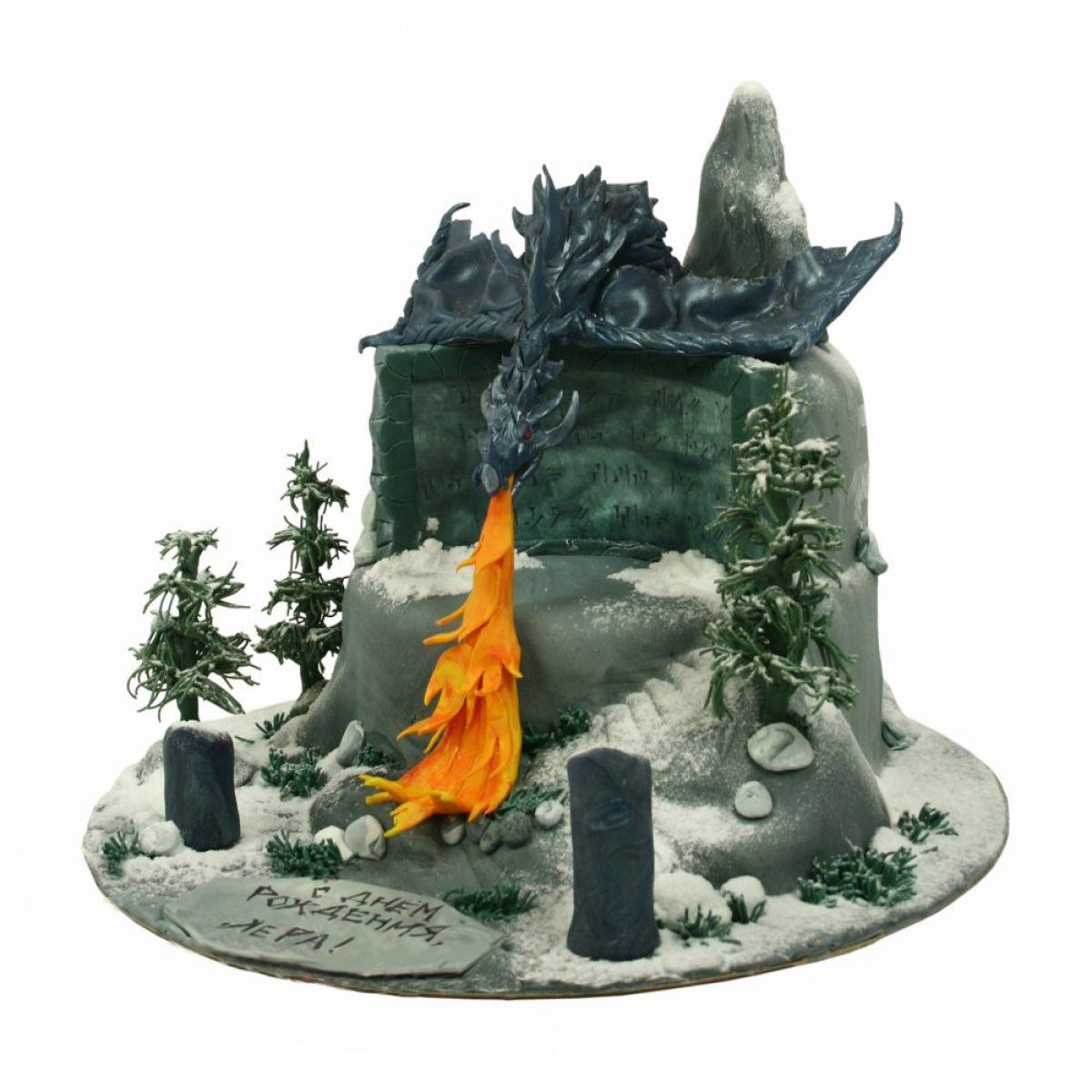 №1387 Торт дракон