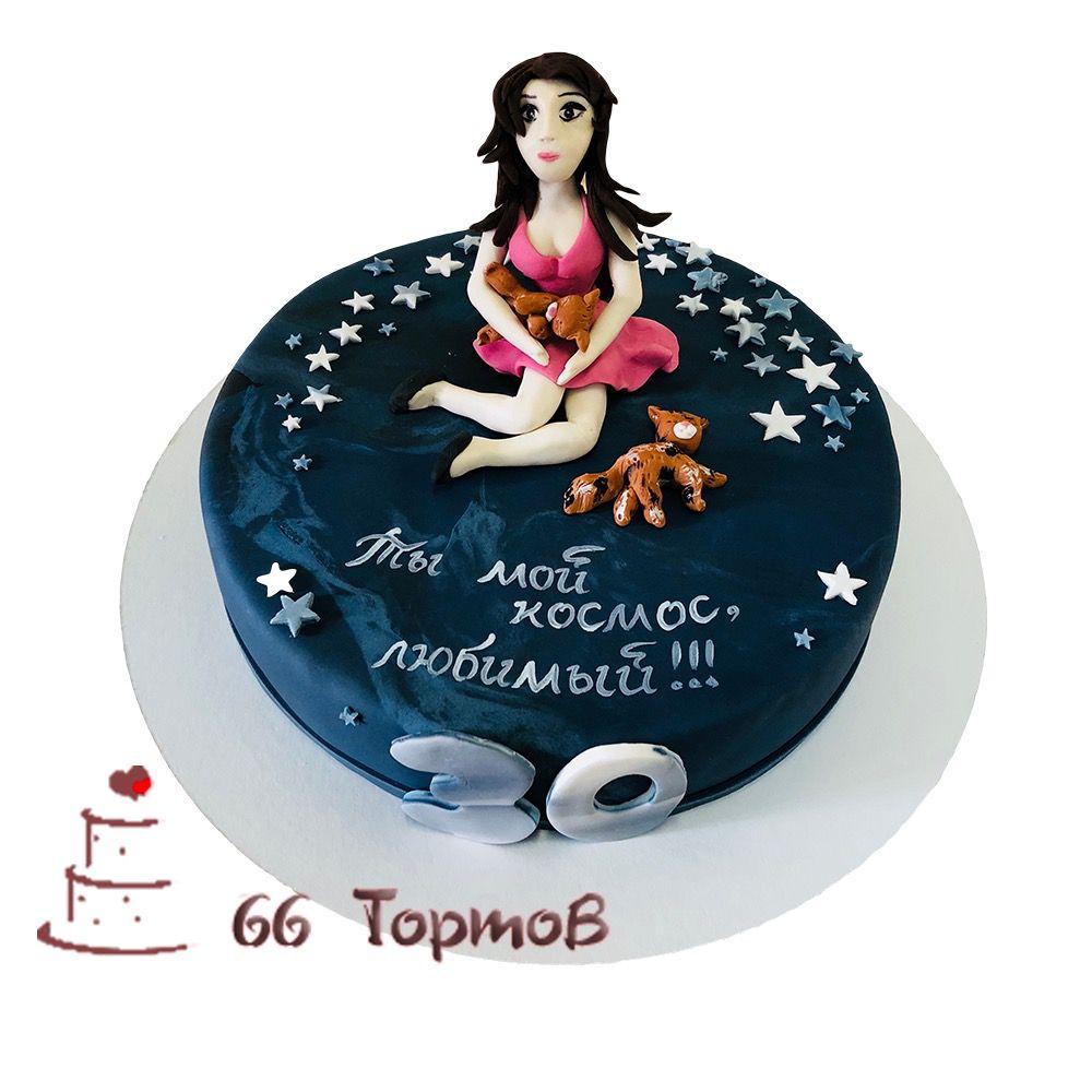 №139 Торт кукла