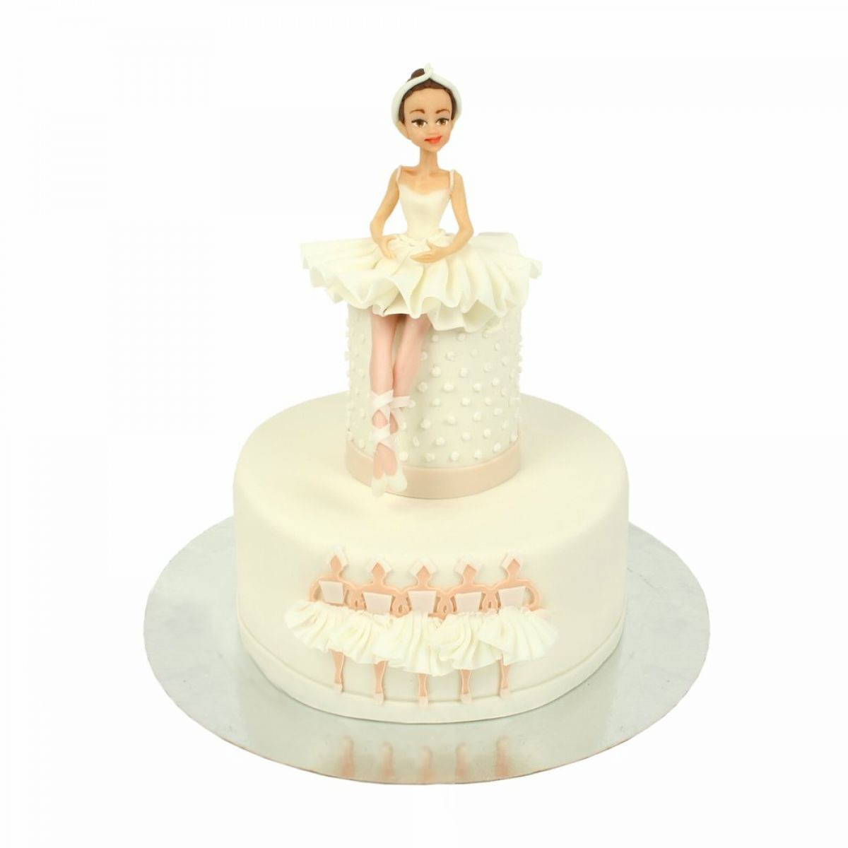 №1404 Торт балерина