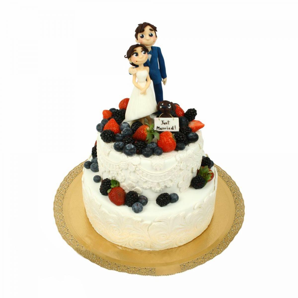 №1428 Торт влюбленные