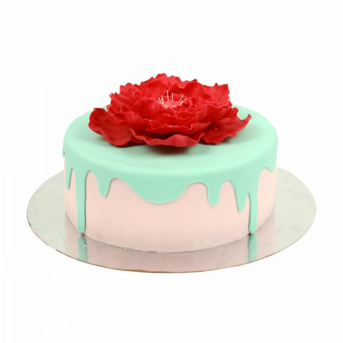 №1430 Торт пионы