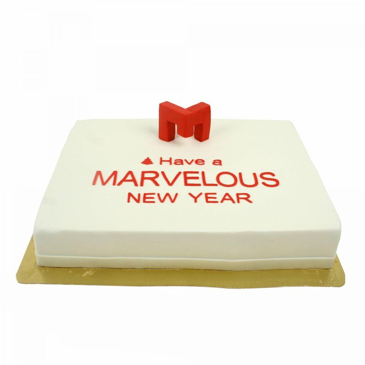 №1431 Торт новый год