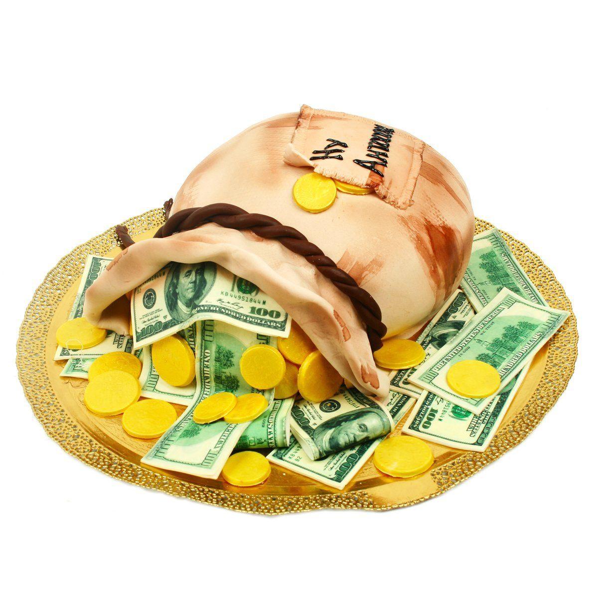 №1450 Торт деньги