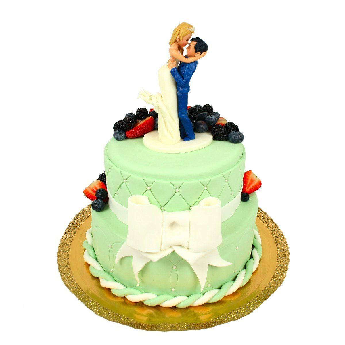№1464 Торт молодожены