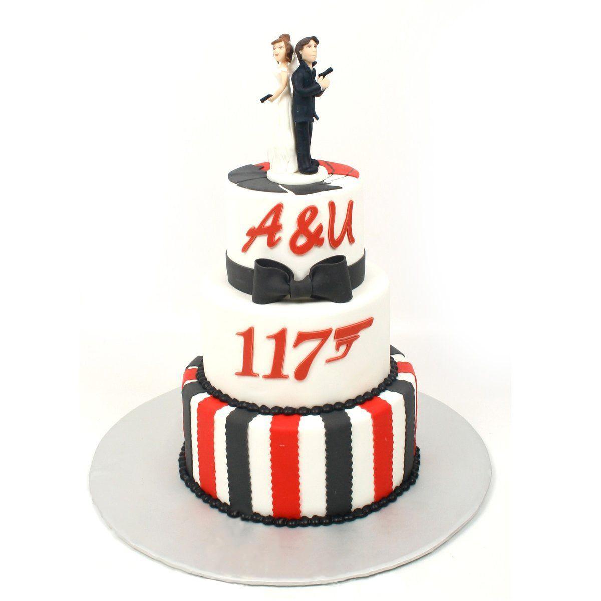 №1800 Торт влюбленные