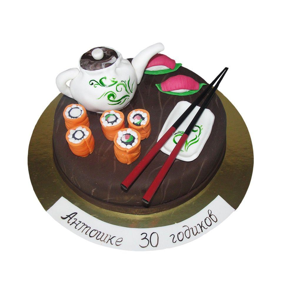 №21 Торт роллы