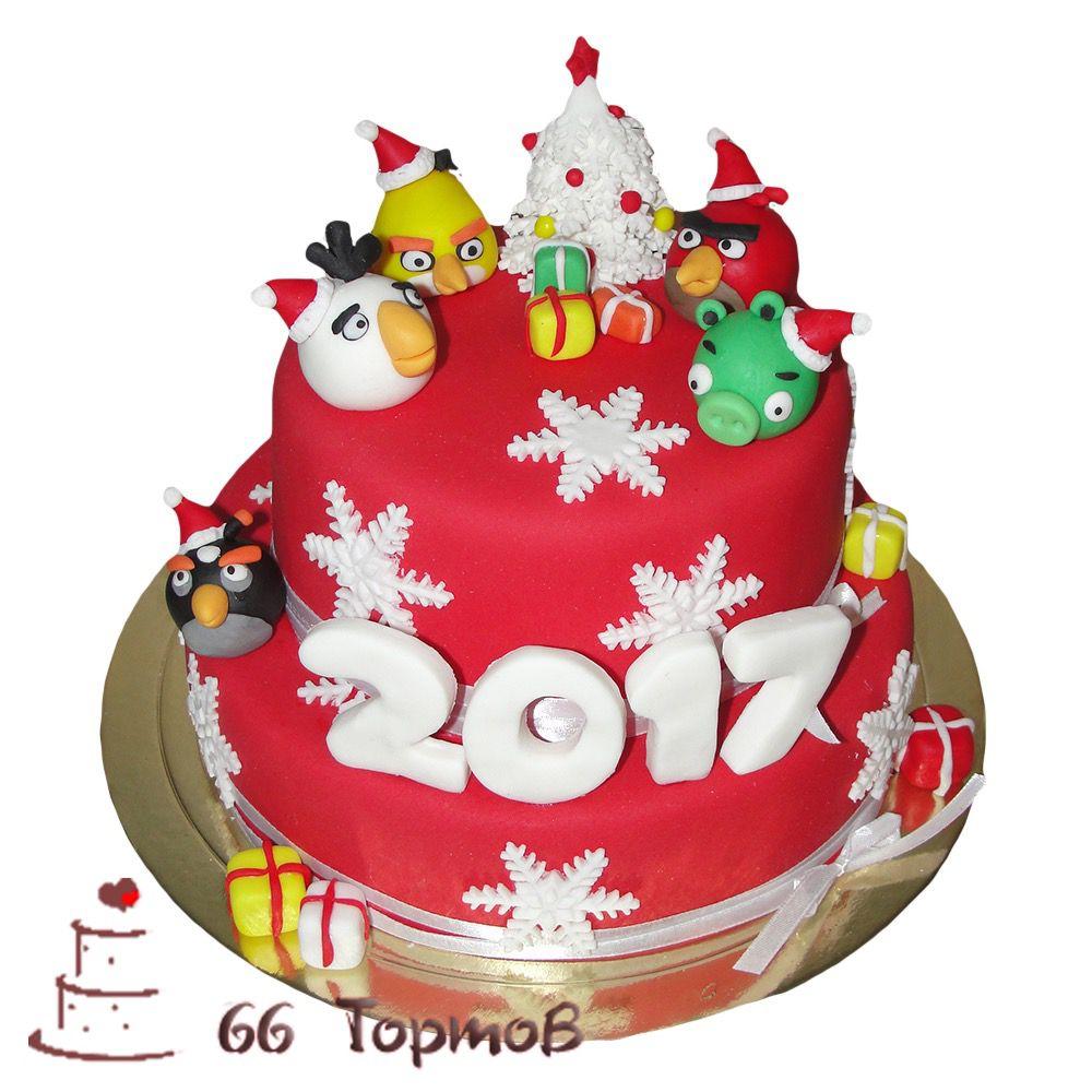 №264 Торт на новый год